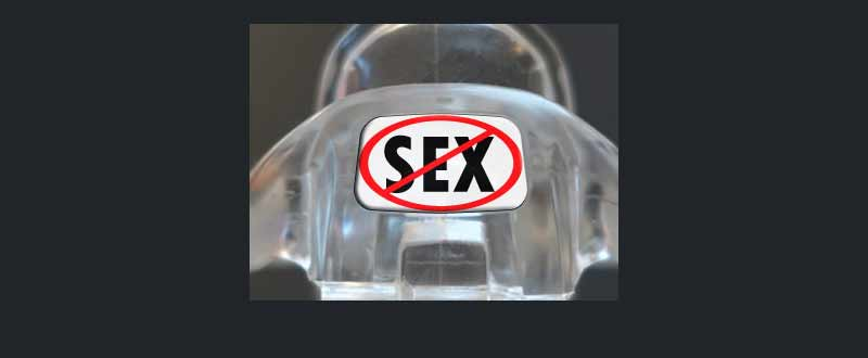 Male chastity device : No-Sex