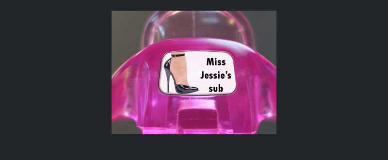 Male chastity device : Miss Jessie